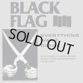 BLACK FLAG / Everything went black (cd) (Lp) Sst