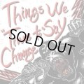 THINGS WE SAY / Time to change (cd) Town hall