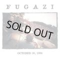FUGAZI / 10/30/96 Sapporo,Japan counter action (cd)