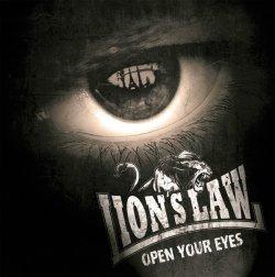"""画像1: LION'S LAW / Open your eyes (10"""") Contra"""