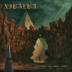 画像1: XIBALBA / Diablo, con amor.. adios (7ep) Closed casket activities