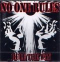 NO ONE RULES / RULE THE WAY (cd) 半田商会