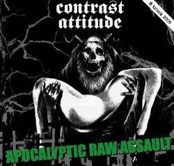 画像1: CONTRAST ATTITUDE / APOCALYPTIC RAW ASSAULT (cd) 男道 DAN-DOH