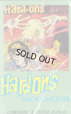 画像1: HARD-ONS / Dickcheese (tape) Taang!