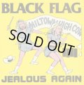 "BLACK FLAG / Jealous again (10"") Sst"