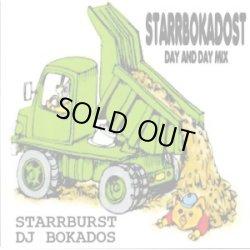 画像1: STARRBURST, DJ BOKADOS / Starrbokadost-Day and day split mix (cdr) Seminishukei