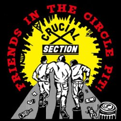画像1: CRUCIAL SECTION / Friends in the circle pit! (cd) (7ep) Crew for life