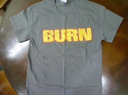 画像1: BURN / Shall be judged gray (t-shirt) Revelation