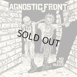 画像1: AGNOSTIC FRONT / No one rules (Lp) Radio raheem