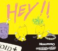 MosomosO, COLOR ME BLOOD RED / split -Hey!!- (cd) 男道 Dan -doh