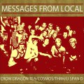 COSMOS, THRH, CROW DRAGON TEA, U SPAN D / Massages from local -4way split- (cd) Happy & funny life