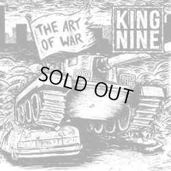 画像1: KING NINE / The art of war (7ep) Closed casket activities