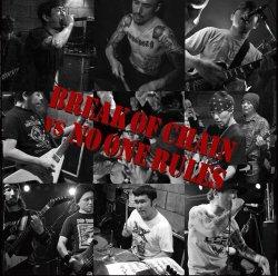 画像1: BREAK OF CHAIN, NO ONE RULES / split (cd) 半田商会