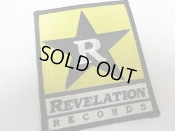 画像1: REVELATION RECORDS / Logo (embroidered patch) Revelation