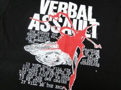 画像2: VERBAL ASSAULT / Never stop (t-shirt)
