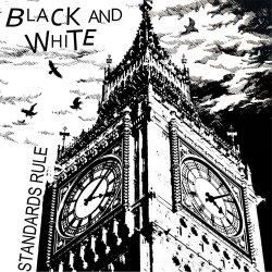 画像1: BLACK AND WHITE / Standards rule-Boring job (7ep) Debauch mood