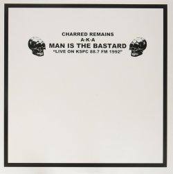 画像1: MAN IS THE BASTARD / Live on kspc 88.7 FM 1992 (Lp) Deep six