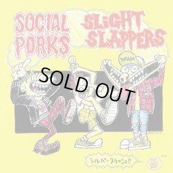 画像1: SOCIAL PORKS x SLIGHT SLAPPERS / split (7ep) Less than TV