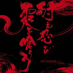 画像1: SWARRRM, killie / 耐え忍び霞を喰らう -2nd press- (Lp) Longlegslongarms