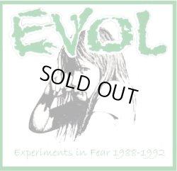 """画像1: EVOL / Experiments in fear 1988-1992 (10"""") Moshover"""