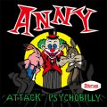 ANNY / Attsck psychobilly (cd) Rude runner