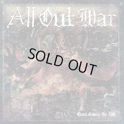 画像1: ALL OUT WAR / Crawl among the filth (cd) Unbeaten