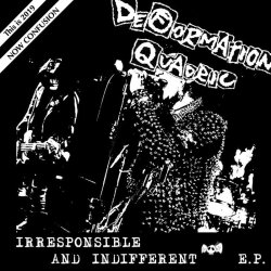 画像1: DEFORMATION QUADRIC / Irresponsible and indifferent (7ep) Pogo77