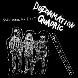 画像1: DEFORMATION QUADRIC / Anger at the social system (Lp) Rsr