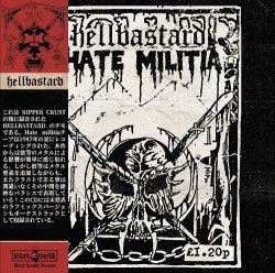 画像1: HELLBASTARD / Hate militia (cd) Black konflik