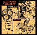 LOW CARD de la morte / el Paris savage video violence (cd) Hardcore kitchen