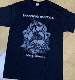 画像2: DEVIATED INSTINCT / Liberty crawls  (t-shirt) Terminal filth