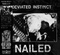 DEVIATED INSTINCT / Nailed (cd) Black konflik