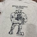 YOUTH DEFENSE LEAGUE / Dog ash grey (t-shirt)