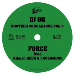 画像2: MASS-HOLE, DJ GQ / Brother grim league vol.3 (7ep) Darahabeats