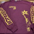SUPERTOUCH / Searchin' for the light maroon (long sleeve shirt) Revelation