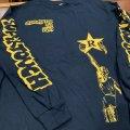 SUPERTOUCH / Searchin' for the light navy (long sleeve shirt) Revelation