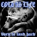 COLD AS LIFE / Born to land hard (cd) A389
