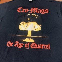 画像1: CRO-MAGS / The age of quarrel (t-shirt)