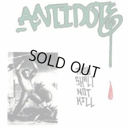 画像1: ANTIDOTE / Thou Shalt Not Kill (cd) (7ep) Bridge Nine