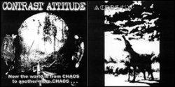 画像1: CONTRAST ATTITUDE, ACROSTIX / split (Lp) Crust War