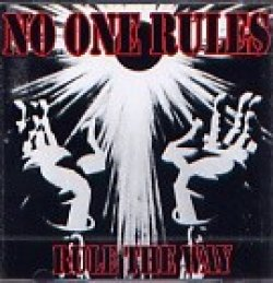 画像1: NO ONE RULES / RULE THE WAY (cd) 半田商会