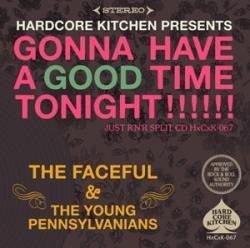 画像1: The Faceful, The Young Pennsylvanians  / Gonna Have A Good Time Tonight split (cd) Hardcore kitchen