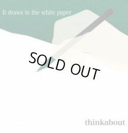 画像1: thinkabout / It draws in the white paper (cd) Self
