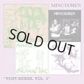 MINUTEMEN / Post-Mersh Vol. 3 (cd) SST