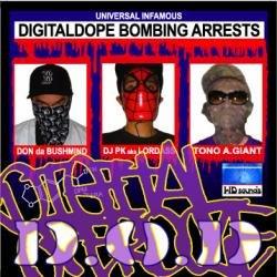 画像1: D.O.D / Digital Dope Bombing Arrests (cd) WD sounds