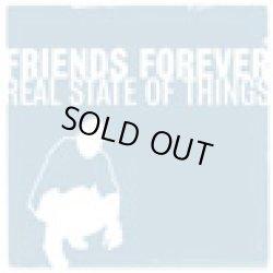 画像1: FRIENDS FOREVER / Real state of things (cd) Alliance trax