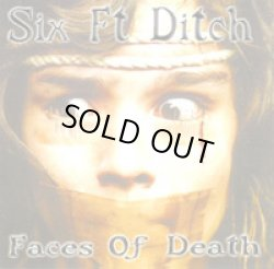 画像1: SIX FT DITCH / face of the death (cd) Rucktion record