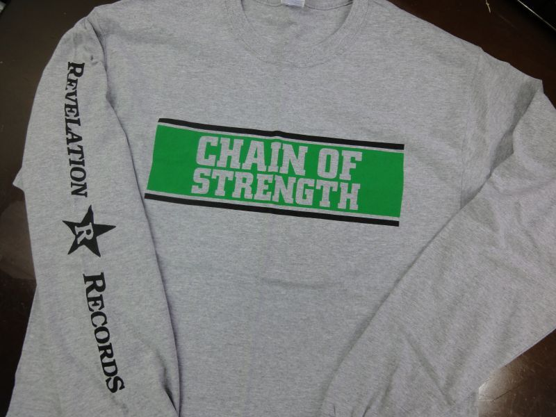 chain of strength the one thing that still holds true long sleeve